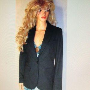 Victoria's Secret Black on Black Blazer Jacket